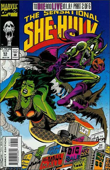 Sensational She-Hulk 53-A by Marvel