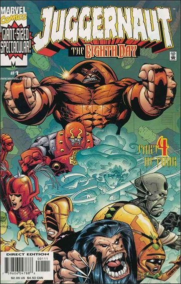 Juggernaut: The Eighth Day 1-A by Marvel