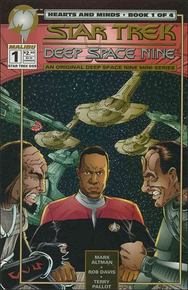 Star Trek: Deep Space Nine Hearts and Minds 1-A by Malibu