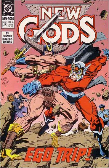 New Gods (1989) 16-A by DC