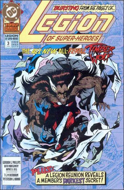 Legion of Super-Heroes Annual 3'-A by DC