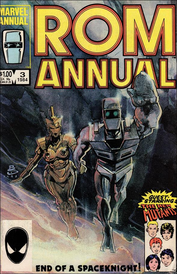 ROM Annual (1982) 3-A by Marvel