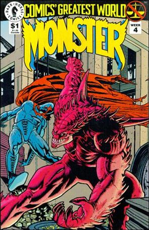 Comics Greatest World: Monster (Invalid) 4-Z-INVALID
