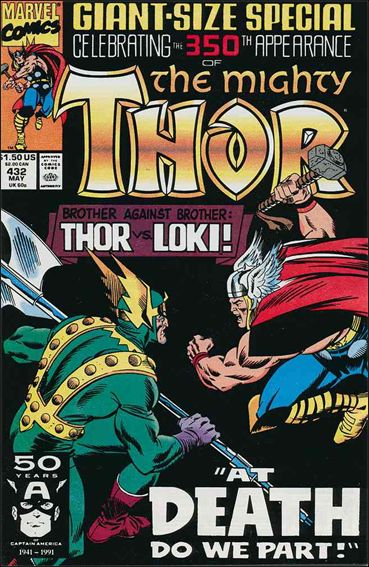Thor (1966) 432-A by Marvel