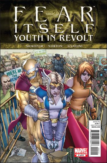 Fear Itself: Youth In Revolt 2-A by Marvel