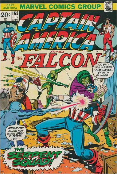 Captain America (1968) 163-A by Marvel