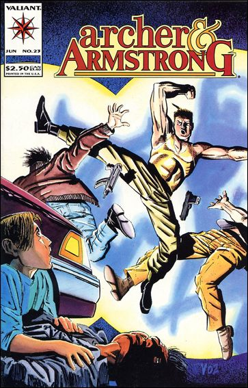 Archer & Armstrong (1992) 23-A by Valiant