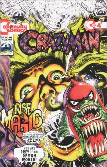 Crazyman (1993) 4-A by Continuity Comics