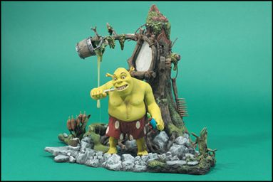 Shrek Playsets Swamp Bath May 2001 Action Figure By