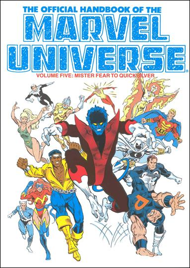 Official Handbook of the Marvel Universe 5-A by Marvel