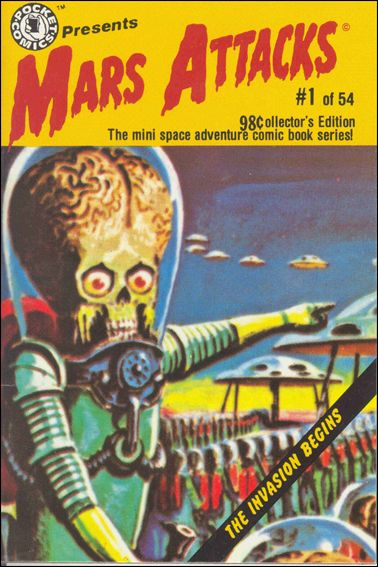 Mars Attacks (1988) 1-A by Pocket Comics