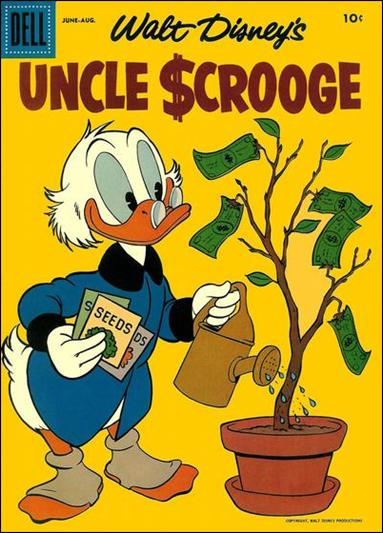 Walt Disney's Uncle Scrooge 18-A by Gemstone