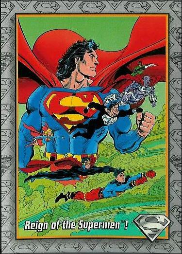 Return of Superman (Base Set) 1-A by SkyBox