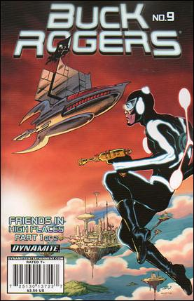 Buck Rogers (2009) 9-B by Dynamite Entertainment