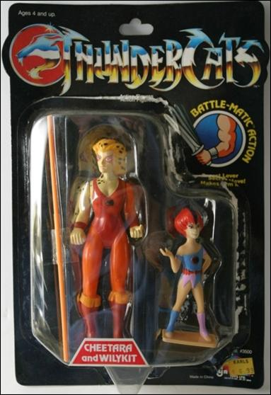 ThunderCats (1985) Cheetara and Wilykit (No Mumm-Ra Offer) by LJN