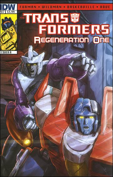 Transformers: Regeneration One 87-A by IDW