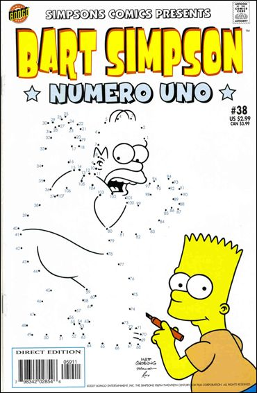 Simpsons Comics Presents Bart Simpson 38-A by Bongo