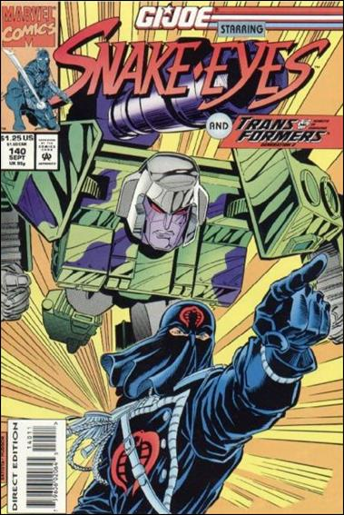 G.I. Joe: A Real American Hero 140-A by IDW