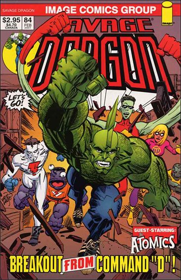 Savage Dragon (1993) 84-A by Image