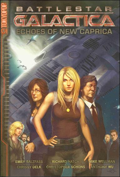 Battlestar Galactica: Echoes of New Caprica 1-A by Tokyopop