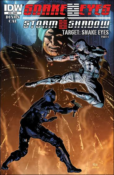 Snake Eyes and Storm Shadow 19-A by IDW