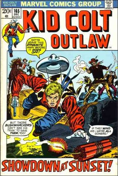 Kid Colt Outlaw  165-A by Marvel