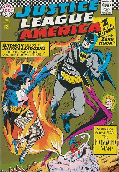 Justice League of America (1960) 51-A by DC