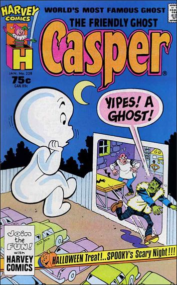 Friendly Ghost, Casper 228-A by Harvey