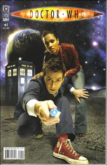 Doctor Who (2008) 1-C by IDW