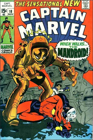 Captain Marvel (1968) 18-A by Marvel