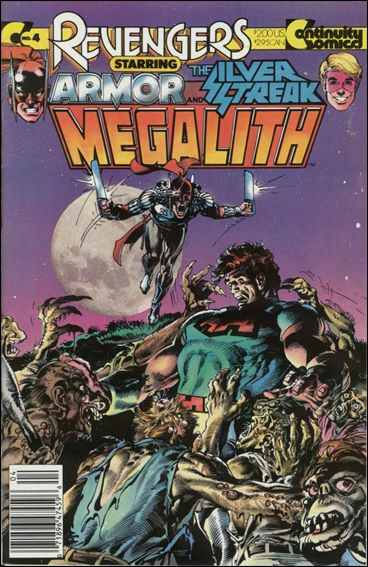 Revengers Featuring Megalith 4-A by Continuity Comics
