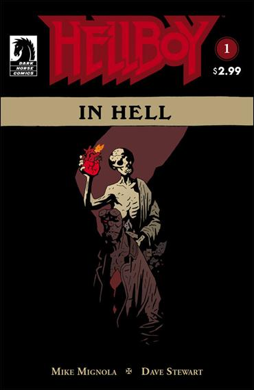 Hellboy in Hell 1-C by Dark Horse