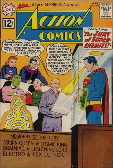 Action Comics (1938) 286-A by DC
