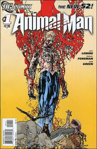 Animal Man (2011) 1-A by DC
