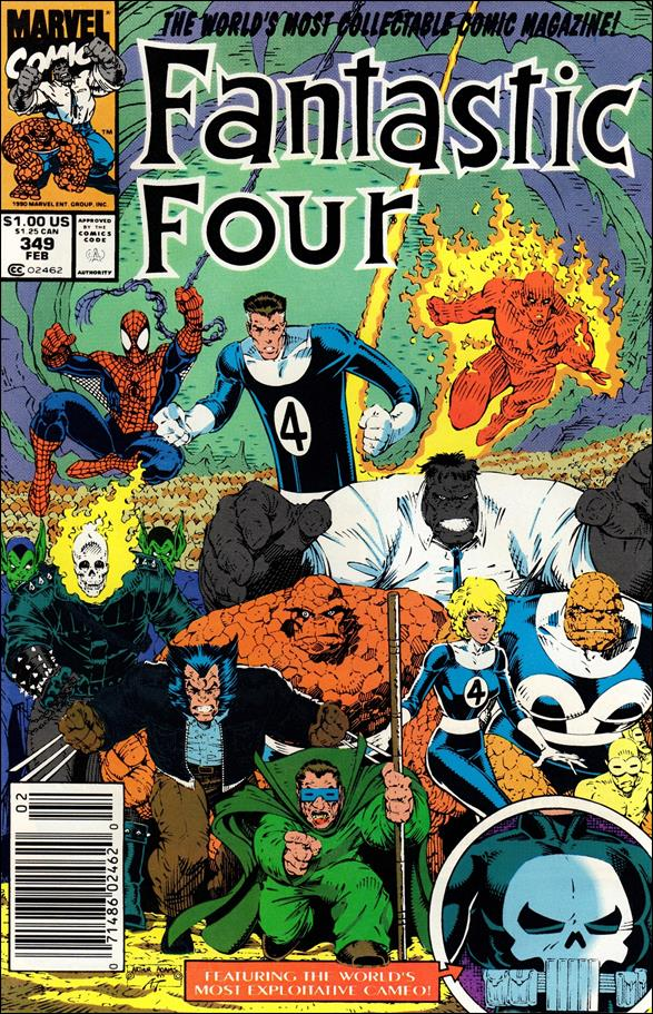 Fantastic Four (1961) 349-A by Marvel