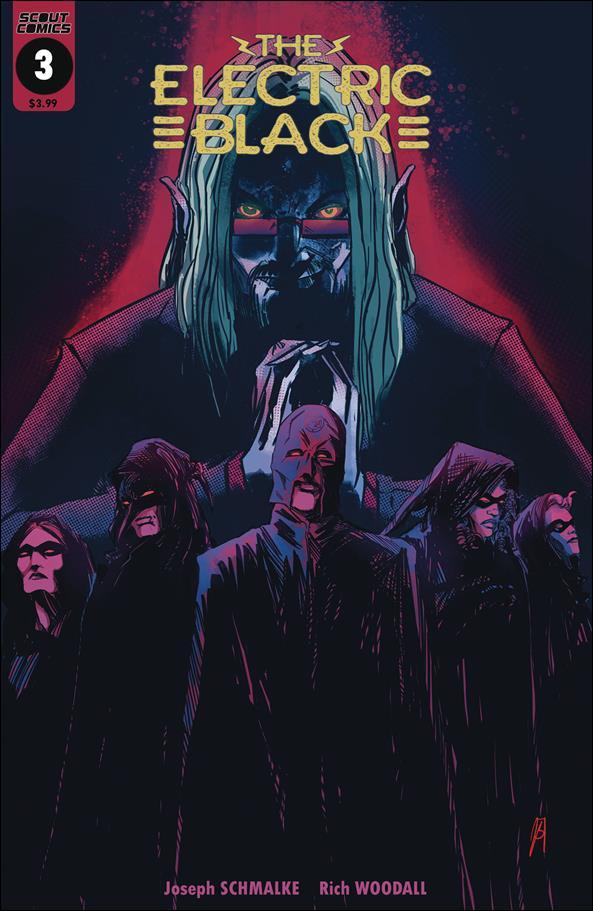 Electric Black 3-A by Scout Comics