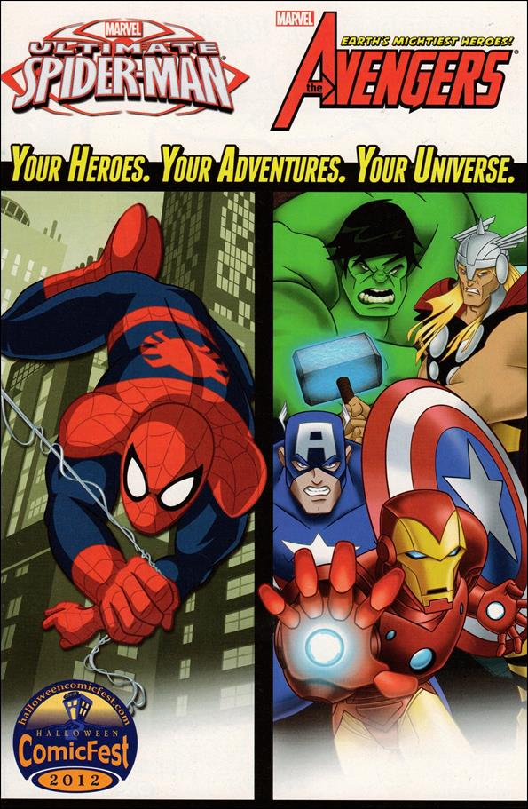 Marvel Universe Avengers and Ultimate Spider-Man 1-A by Marvel