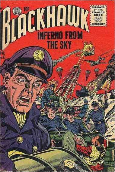 Blackhawk (1944) 87-A by DC