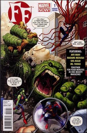 FF (2013) 1-B by Marvel