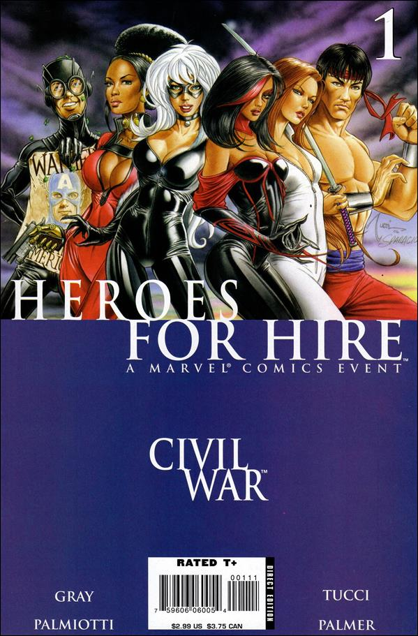 Heroes for Hire (2006) 1-A by Marvel