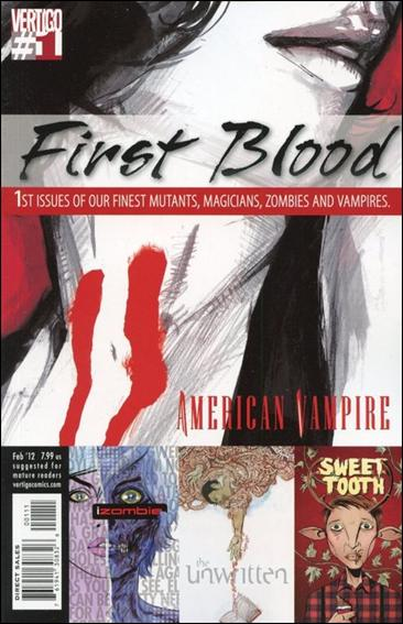Vertigo First Blood 1-A by Vertigo