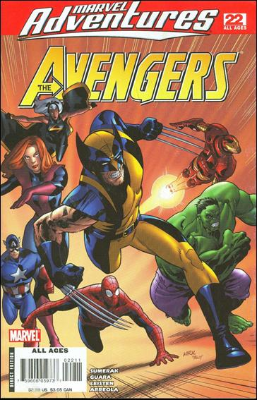 Marvel Adventures The Avengers 22-A by Marvel