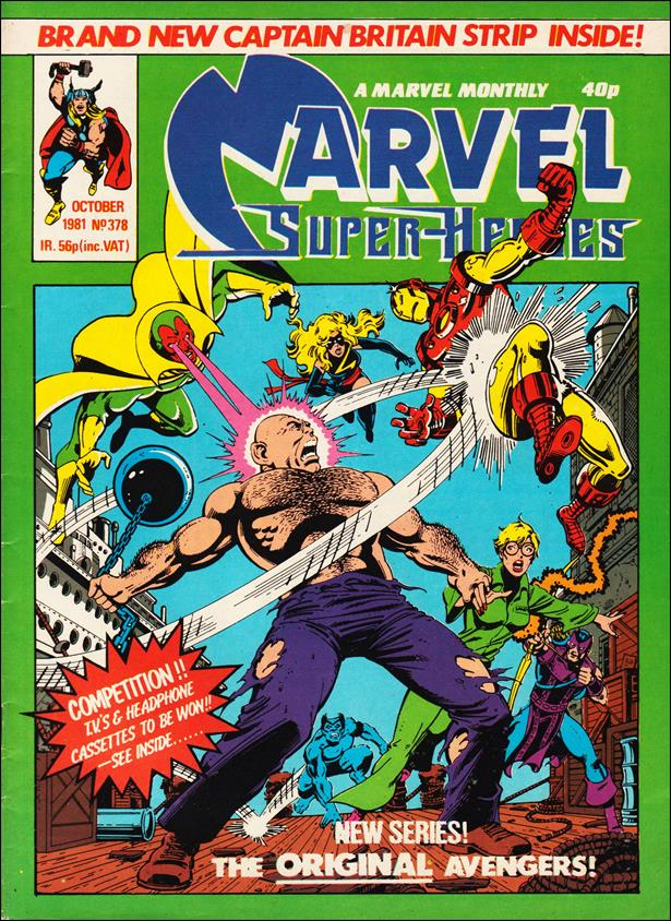 Marvel Superheroes (UK) 378-A by Marvel UK