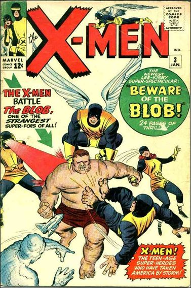 X-Men (1963) 3-A by Marvel