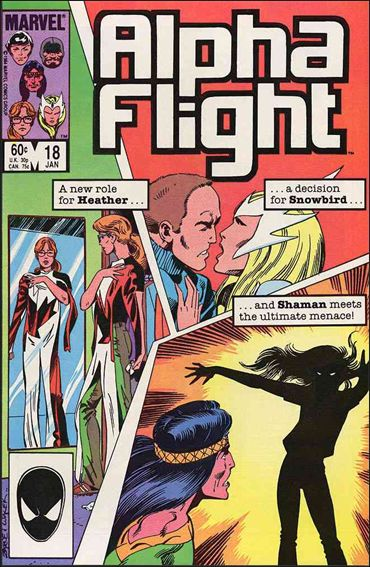 Alpha Flight (1983) 18-A by Marvel