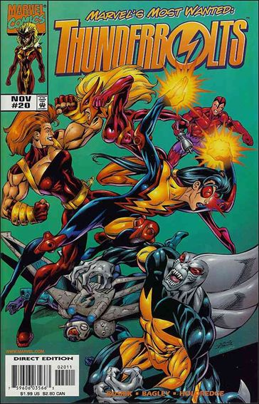 Thunderbolts (1997) 20-A by Marvel