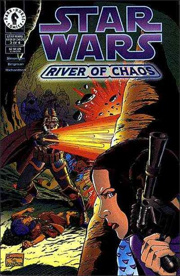 Star Wars: River of Chaos 3-A by Dark Horse