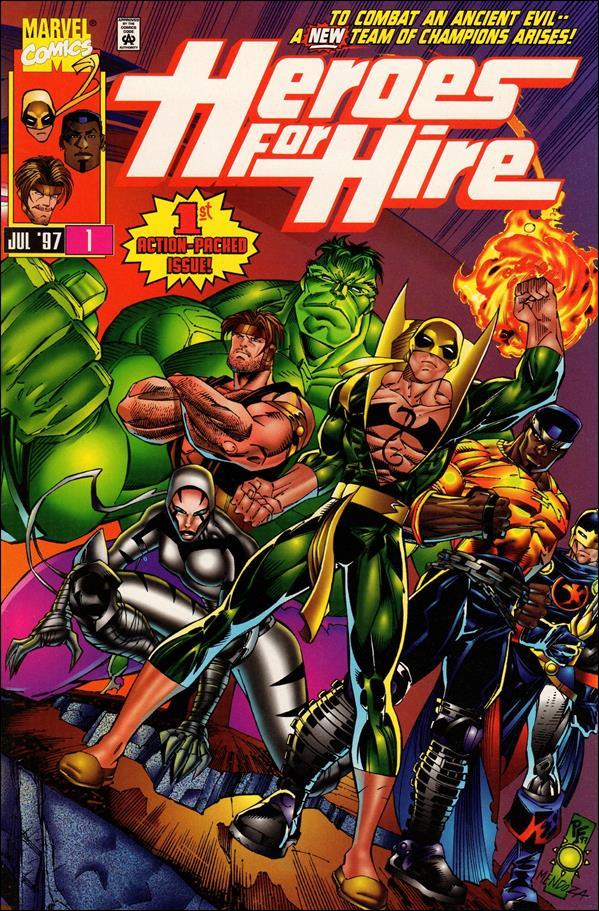 Heroes for Hire (1997) 1-A by Marvel