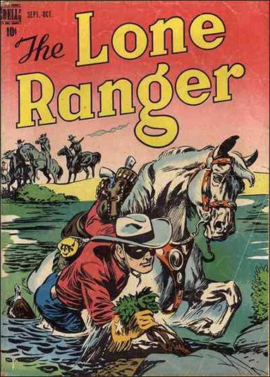 Lone Ranger (1948) 5-A by Dell