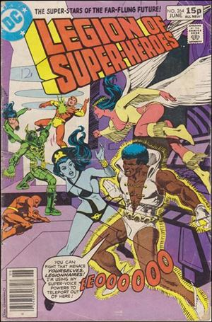 Legion of Super-Heroes (1980) 264-C